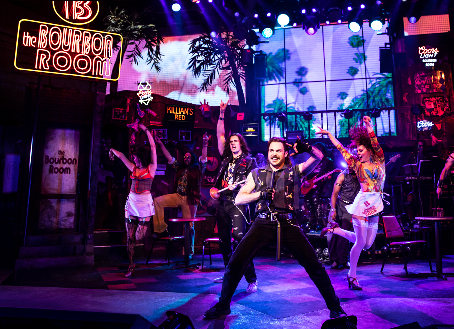 Mitchell Jarvis in Rock of Ages (Off Broadway)