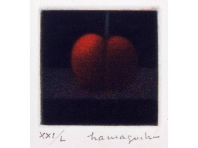 真夏のサクランボは闇に輝く。―浜口陽三 夏の銅版画展―