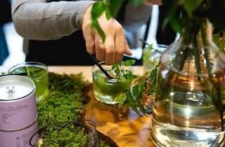 飲む植物園@東京茶寮