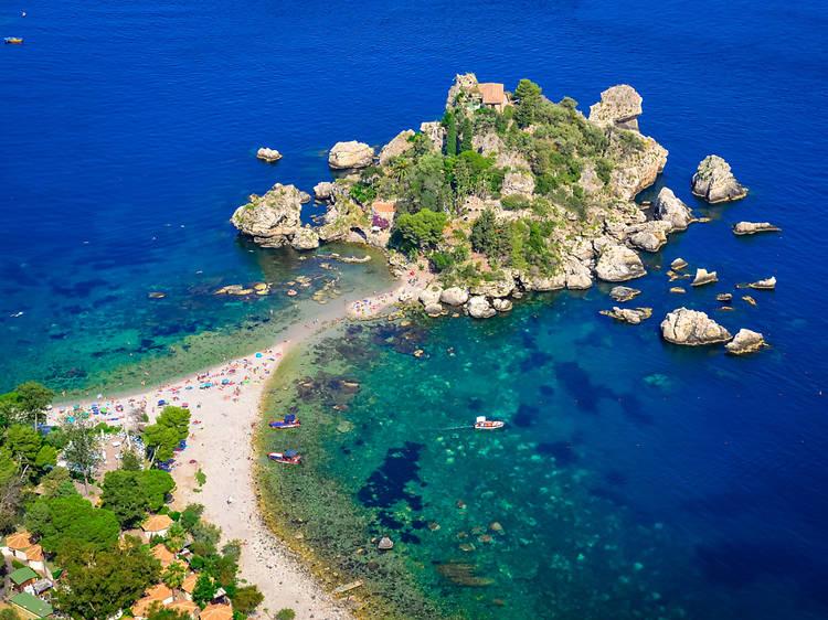 Isola Bella, Taormina, Sicília
