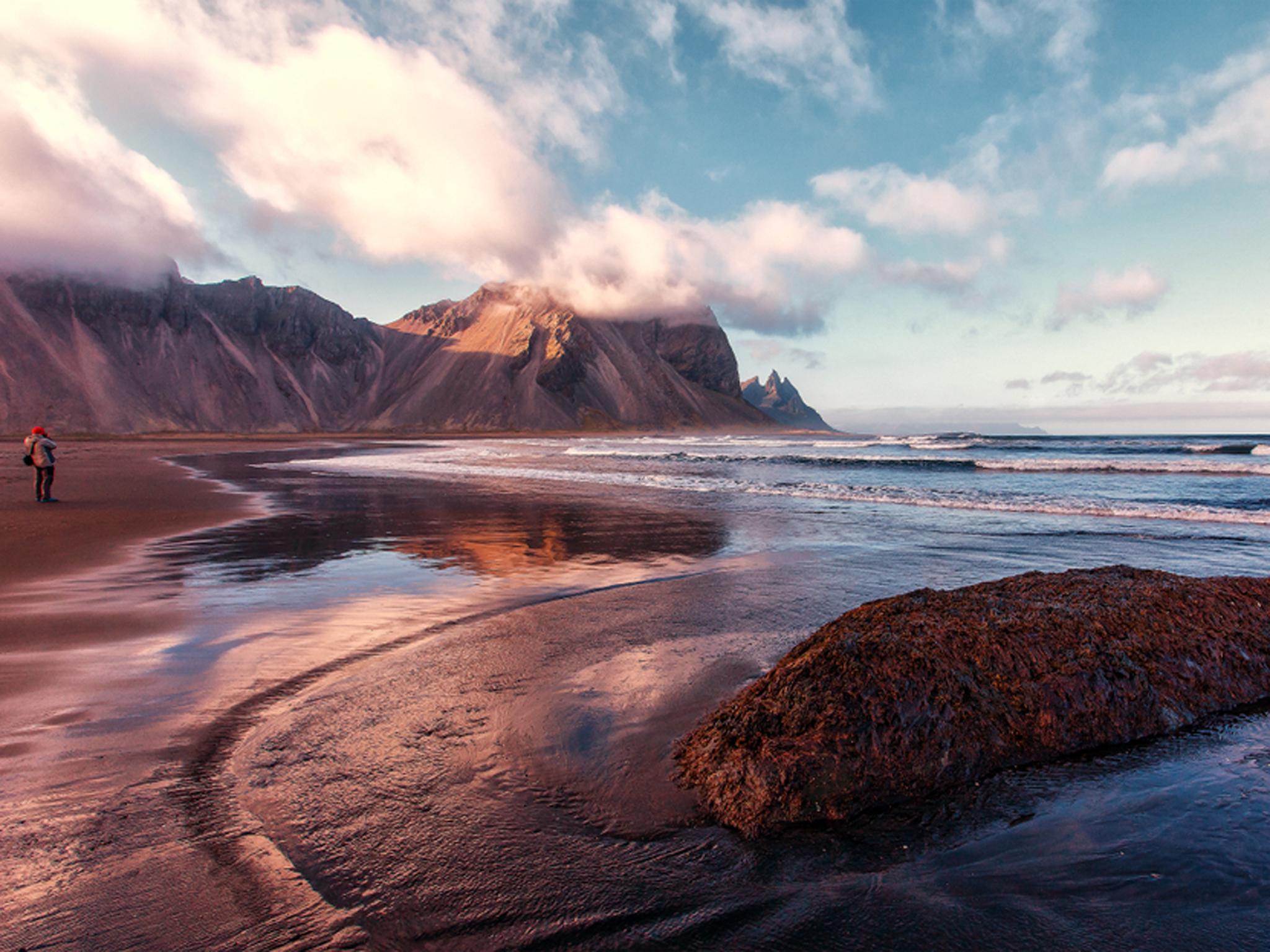 Stokknes beach, Iceland