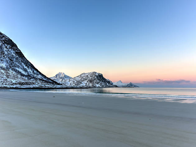 Haukland Beach, Norway