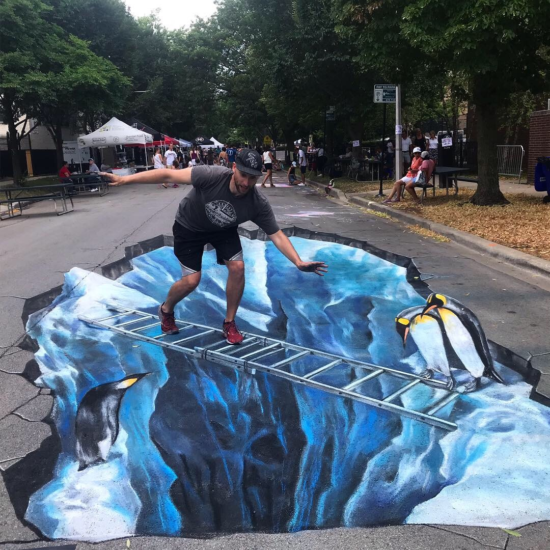 Chalk Howard Street festival