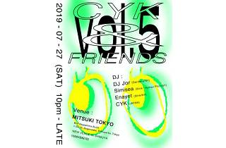 CYK & Friends Vol.5 from NYC