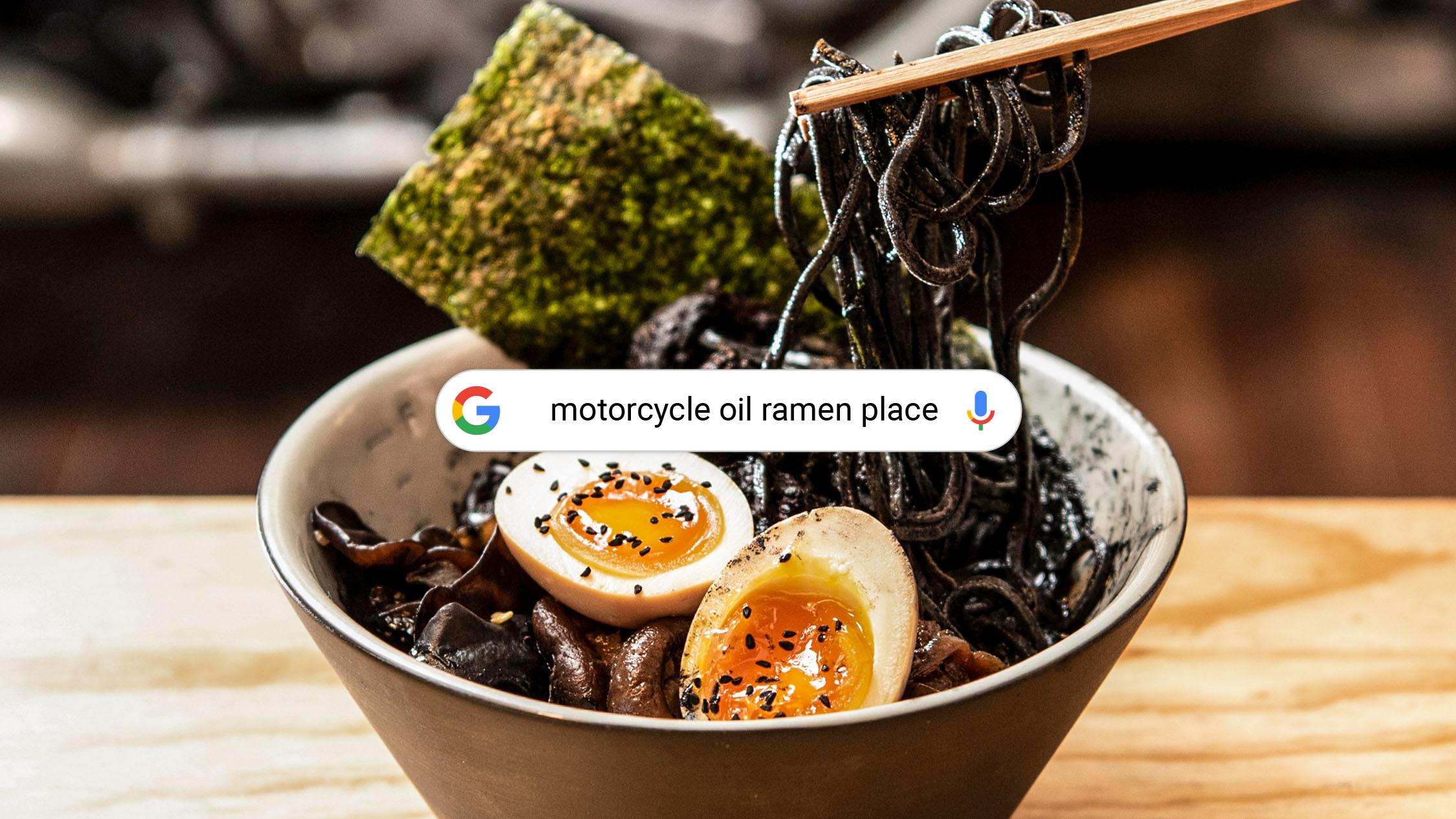 Motorcycle Oil Ramen at Rising Sun Workshop