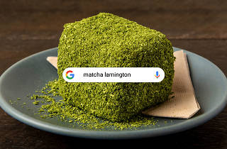 Signature Searches: Matcha Lamington