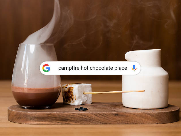 Signature Searches: Campfire chocolate