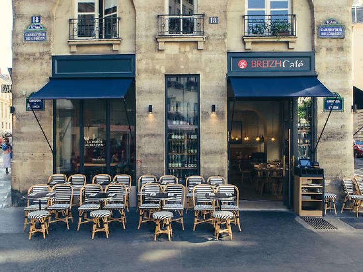 Sample the city's best crêpes at Breizh Café