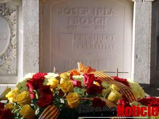 La tomba del president Irla