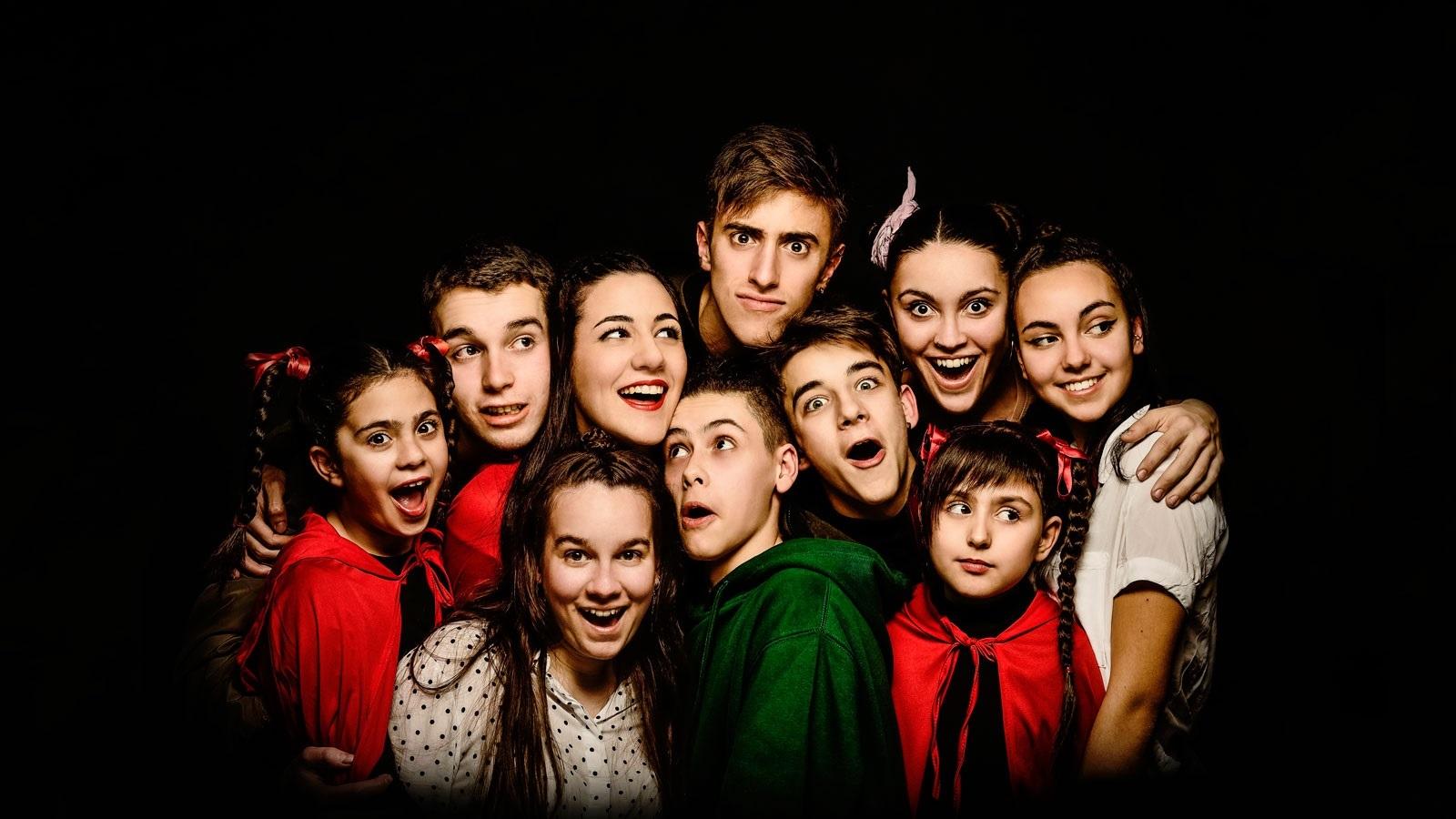 Hip Hop Big! La gran aventura de la Caputxeta Vermella i en Peter Pan