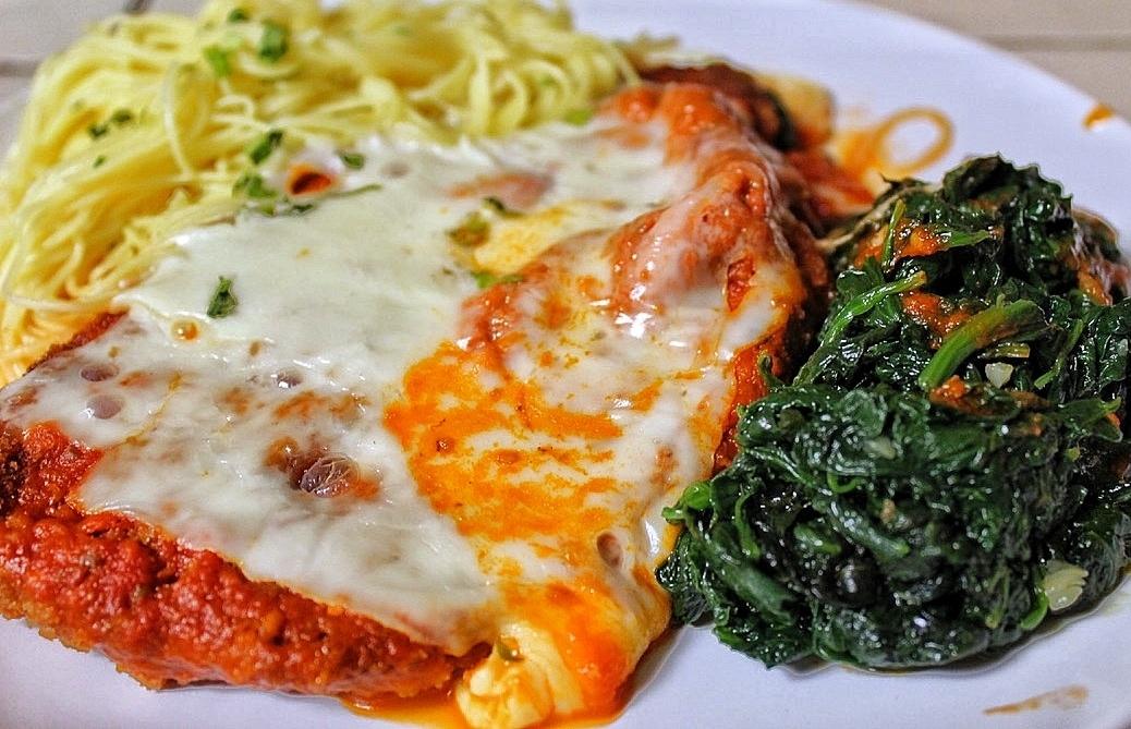 Il Capriccio best chicken parm Italian restaurant Los Angeles