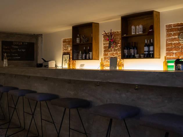 Wine Bar de Alba Cocina Local en la Juárez