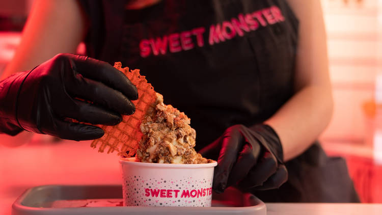 Sweet Monster, helados grandes y gordos en la Roma