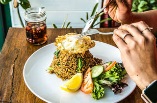 Rod Fai Fried Rice at Oneyada Thai Cafe