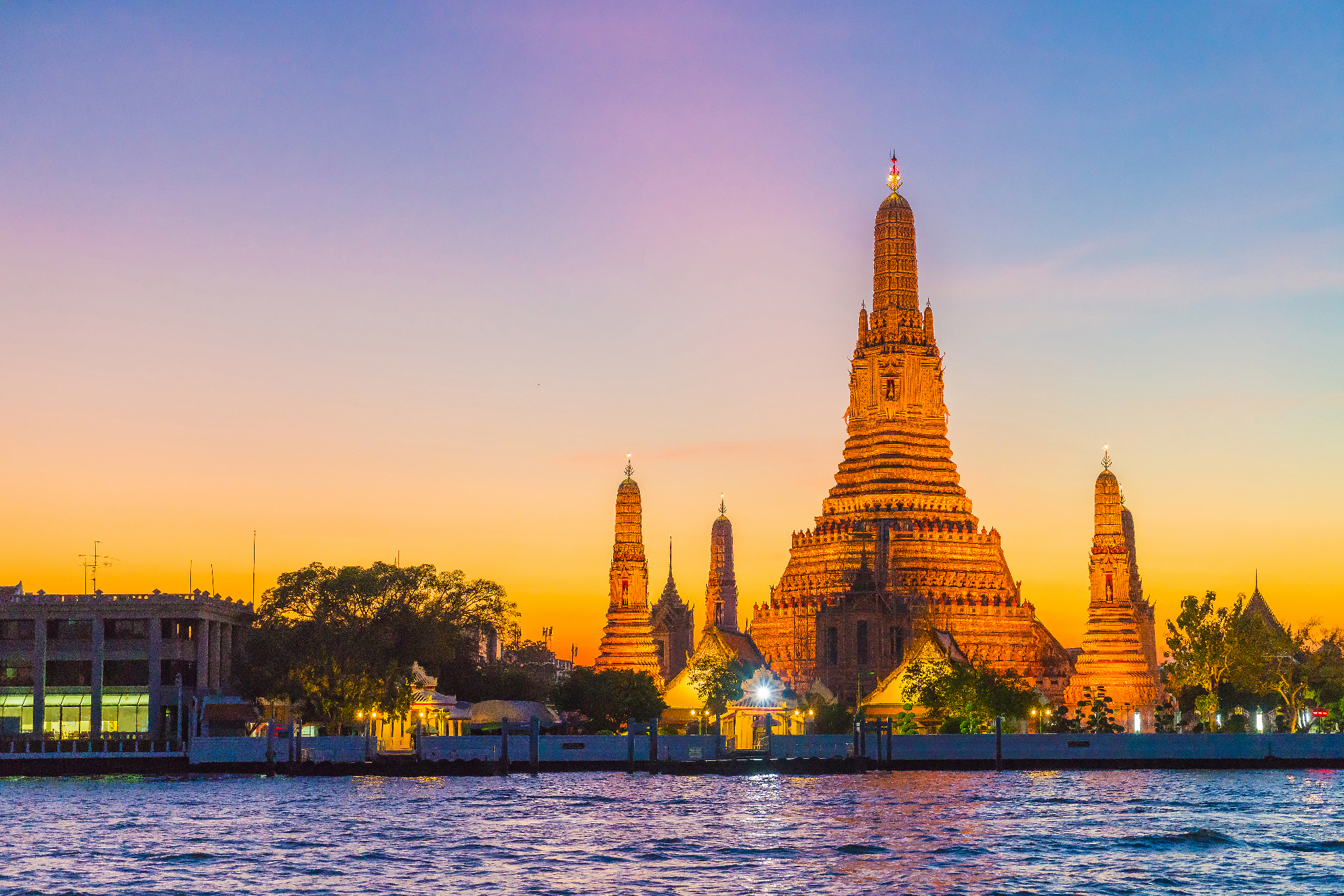 Wat Arun sunset