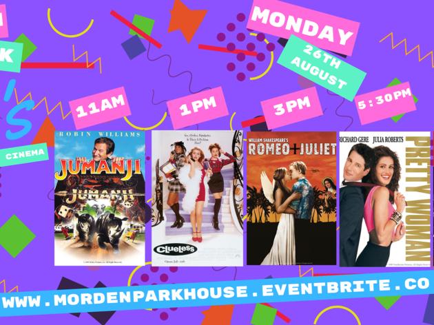 Morden Park House 90s Outdoor Cinema