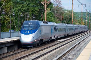 Amtrak Acela, NYC to DC