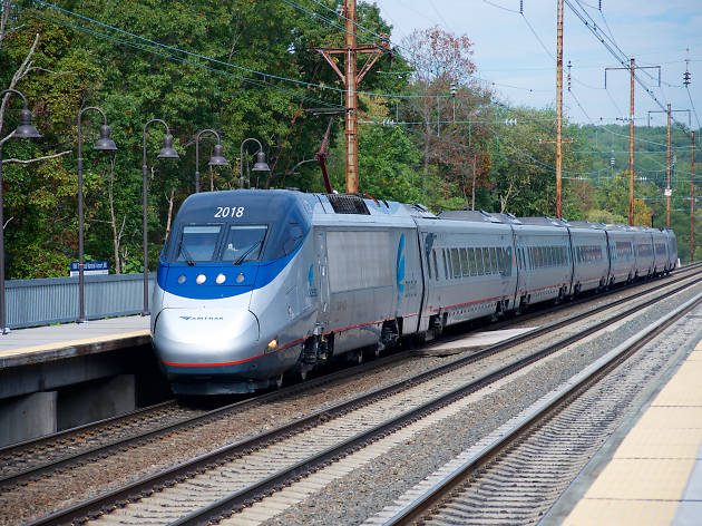 Amtrak Acela, NYC to DC