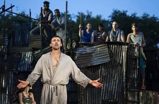 Jonathan Cake in Coriolanus