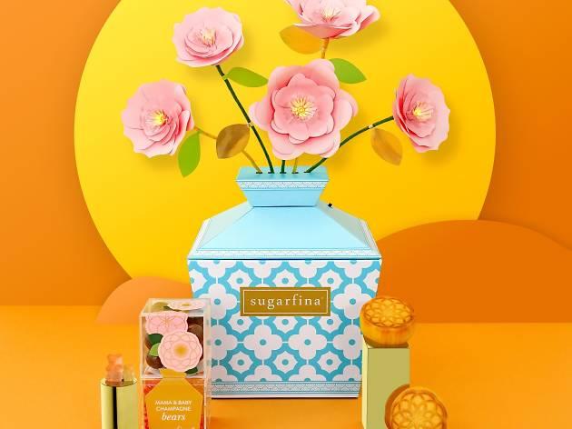 Mid-Autumn Mooncake Candy Bento Box