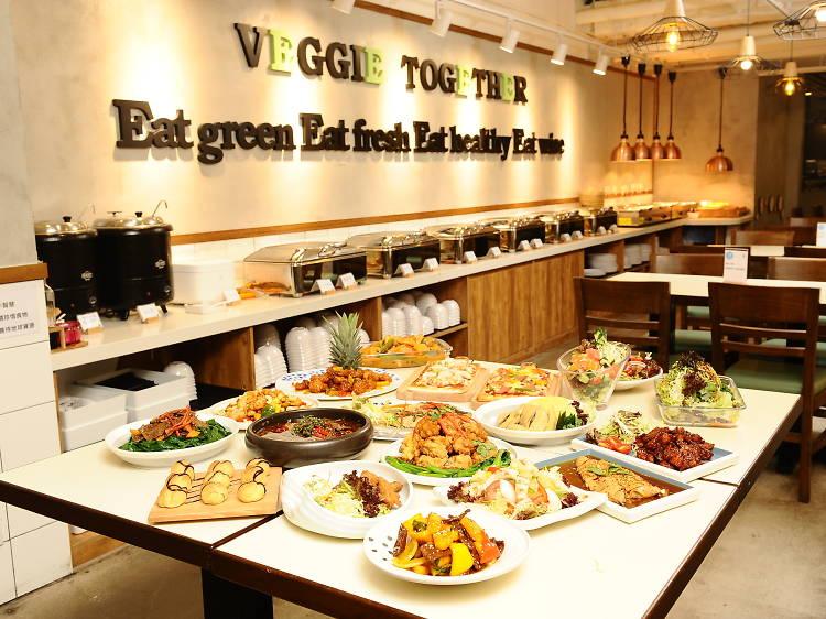 香港精選人氣素食自助餐