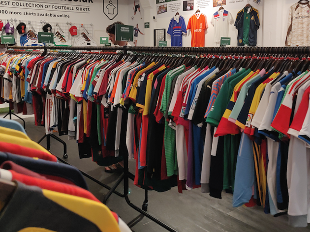 Classic Football Shirts Shoreditch Pop Up