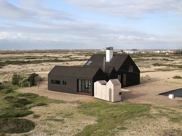 Shingle House at Dungeness, Kent