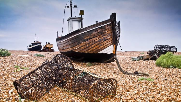 Early morning at Dungeness beach