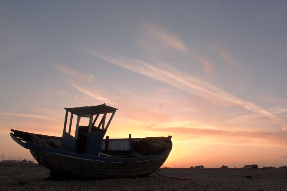 Sunset at Dungeness, Kent