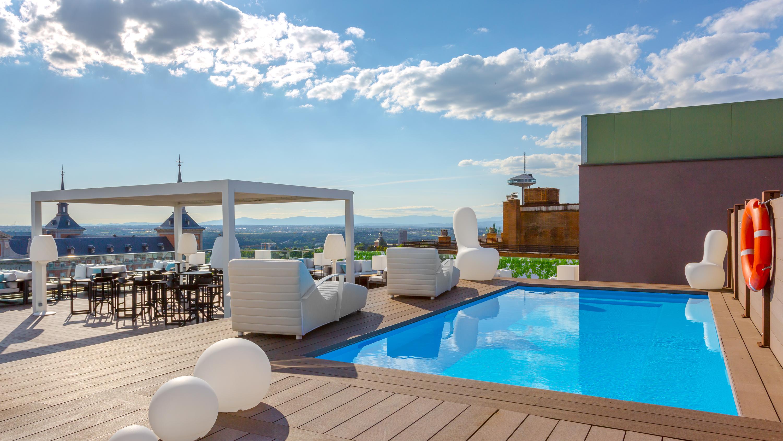 Un oasis con vistas en plena capital: la terraza del hotel Exe Moncloa 4*