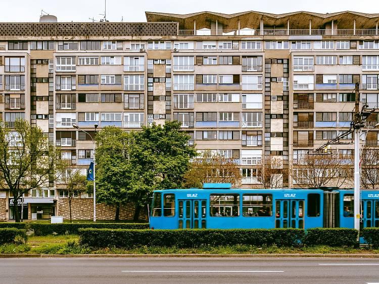 Apartment block at Vukovarska 52