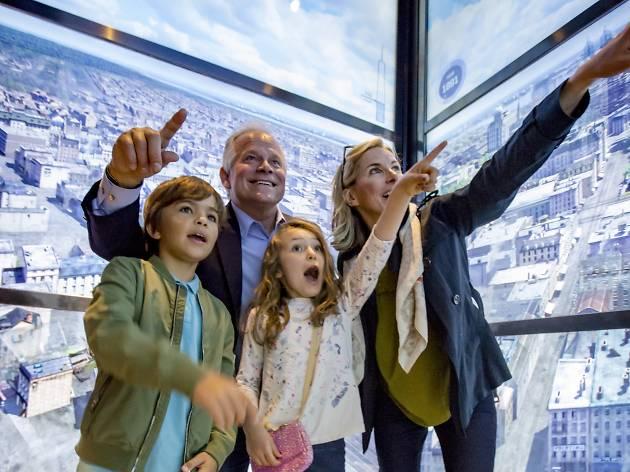 One World Observatory Skypod Elevator
