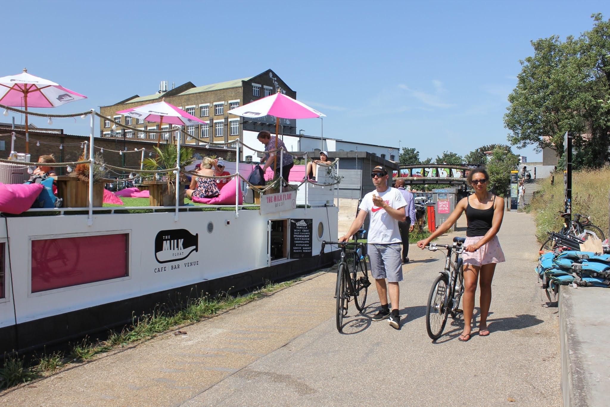The Milk Float, best bike cafes London