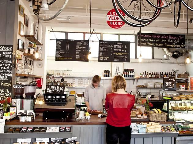 Look Mum No Hands, best bike cafes London