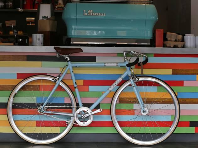 Dynamo, best bike cafes London