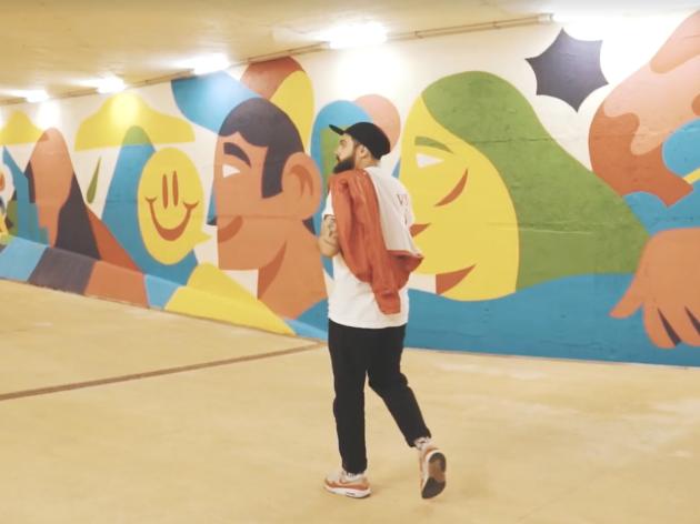 AkaCorleone - mural Carcavelos