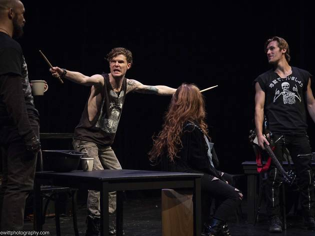 Bergen in the 2018 Broadway Bound Theatre Festival