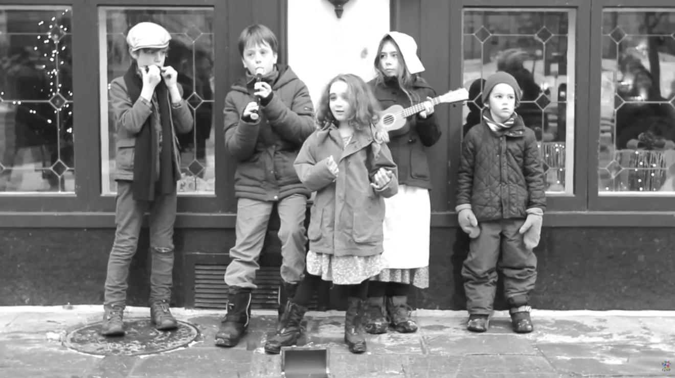 Huérfanos en fuga musical