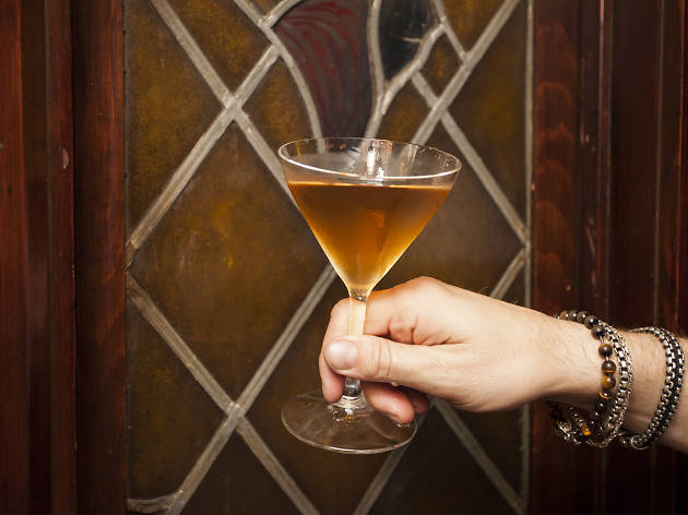 Take a peek inside Tam O'Shanter's new speakeasy