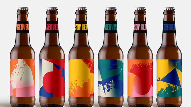 Cerveceros de México etiquetas especiales Día de la Cerveza