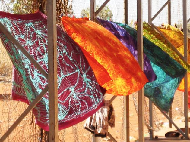 Desert Lines: Batik from Central Australia