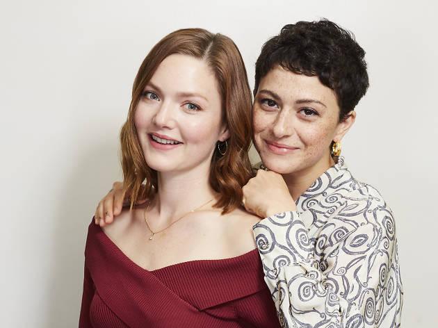 A portrait of 'Animals' stars Holliday Grainger and Alia Shawkat