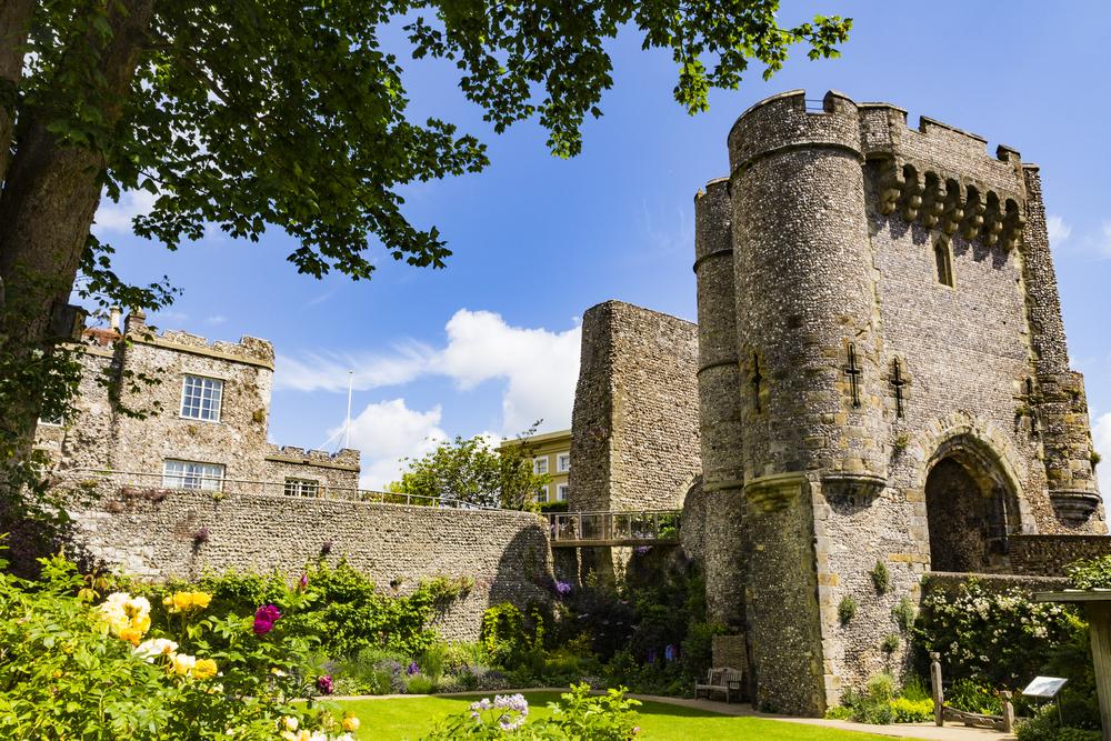 Lewes Castle, Lewes, East Sussex, England
