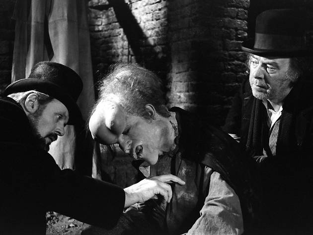 A still from the film 'The Elephant Man'