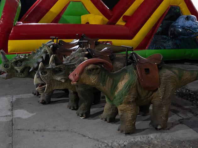 Robotic Dinosaurs  (Foto: Alejandra Carbajal)
