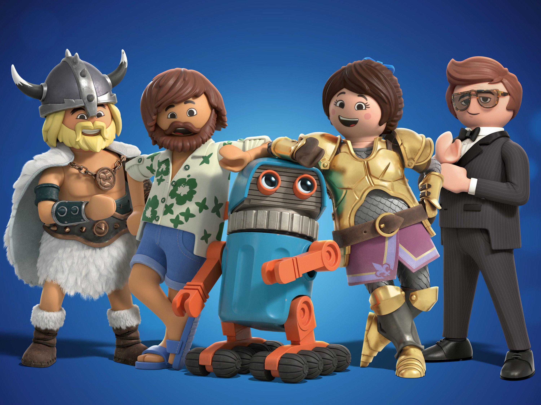 Playmobil: La película, es la primera cinta de estos juguetes alemanes