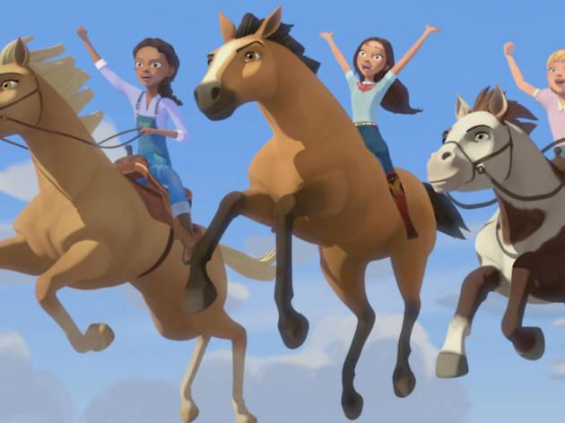 Spirit: Cabalgando libre – Cuentos de caballos