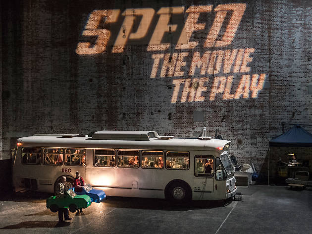 Speed: The Movie, The Play Sydney Fringe 2019 supplied