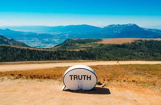 Truth booth in Afghanistan