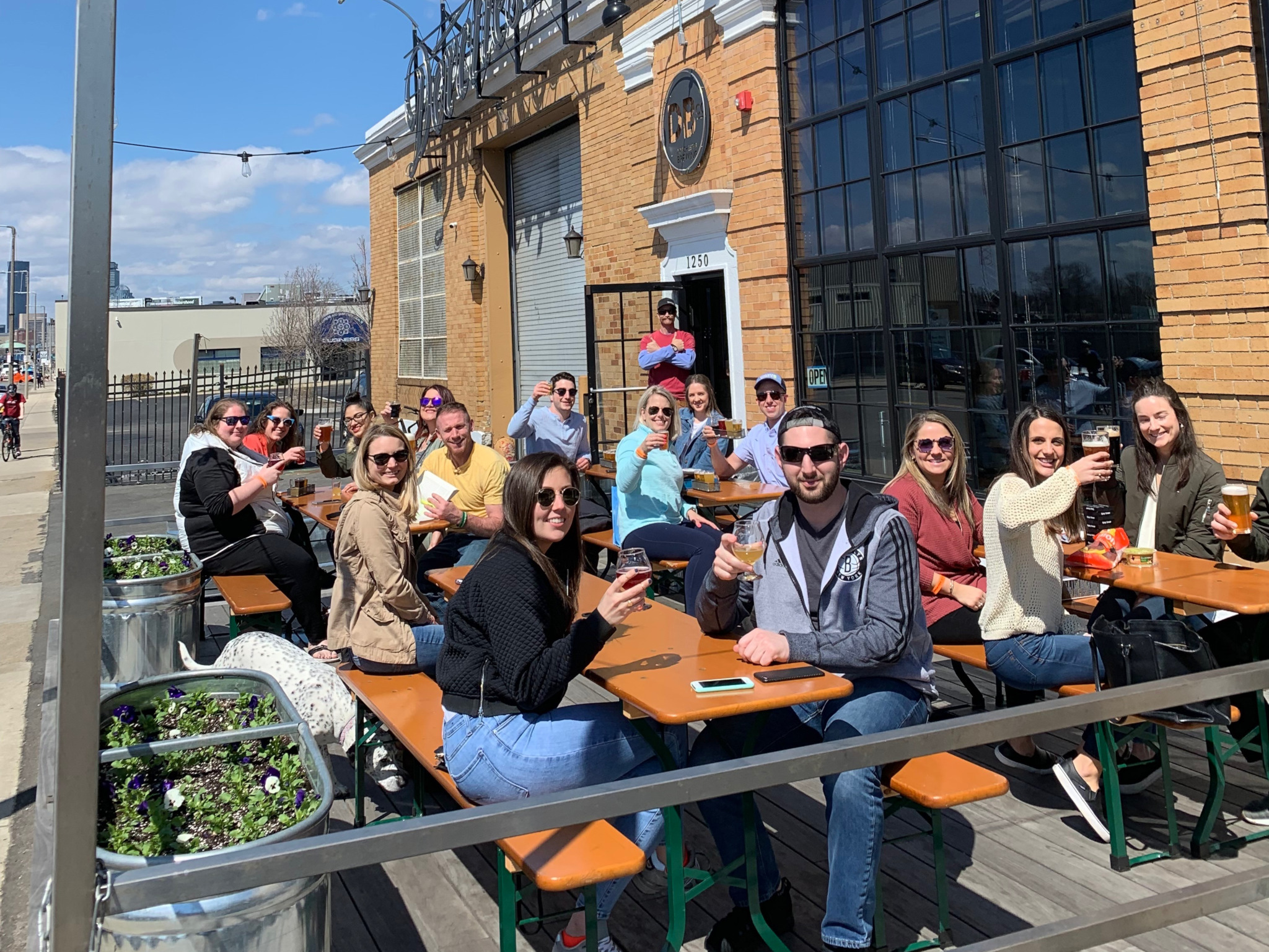 Hoist a cold one at the coolest beer gardens